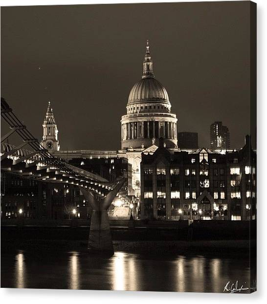 Wrens Canvas Print - St Paul's Cathedral London And The by Ali Gardezi