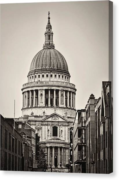 St Pauls London Canvas Print