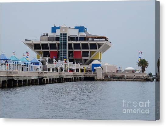 St. Pete Pier Canvas Print