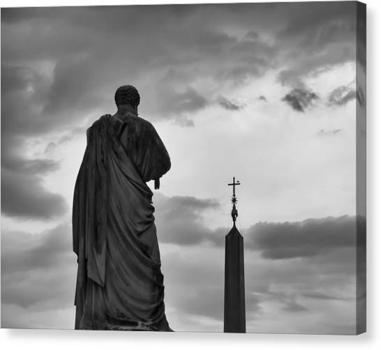 St. Peter And The Obelisk Canvas Print