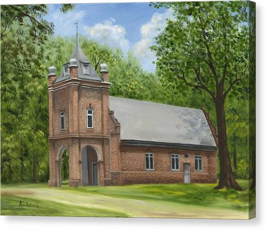 Canvas Print - St. Peter's Church by Anne Kushnick
