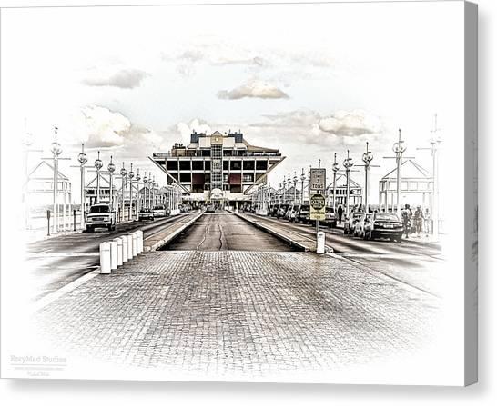 St. Petersburg Pier Dec 2011  Canvas Print
