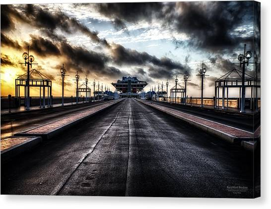 St. Petersburg Pier Sunrise  Canvas Print