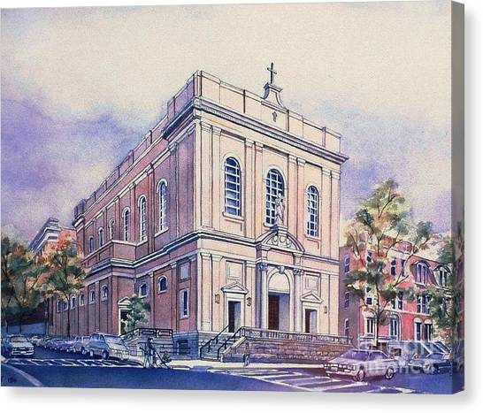 St Saviors Church  Canvas Print