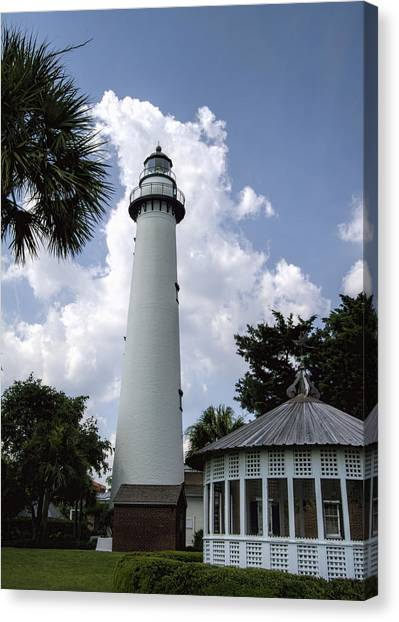 St. Simon's Island Georgia Lighthouse Canvas Print
