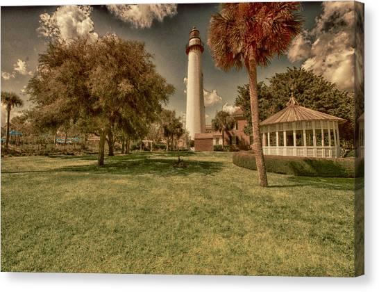 St. Simon's Island Lighthouse Canvas Print