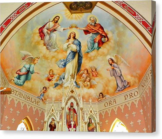 St. Stanislaus Church Canvas Print