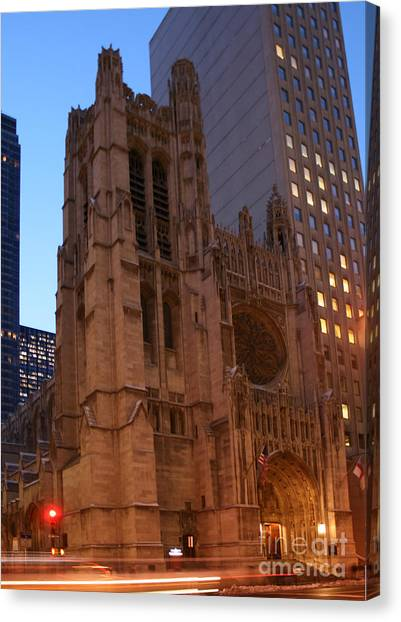 St Thomas Episcople Church Canvas Print