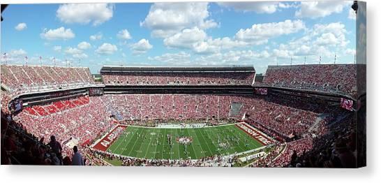 Stadium Panorama View Canvas Print