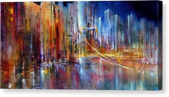 Stadtansicht Canvas Print