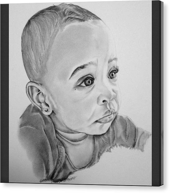 Realism Art Canvas Print - Stage #19.  Final Stage Of Detailing by Ayemuze Artist