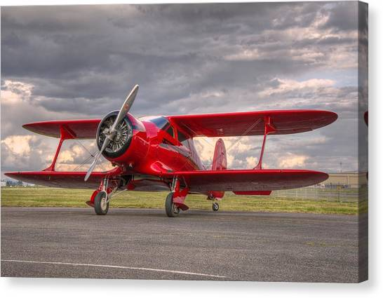 Staggerwing Canvas Print
