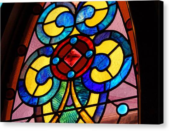 Stain Glass Canvas Print by Thomas Fouch