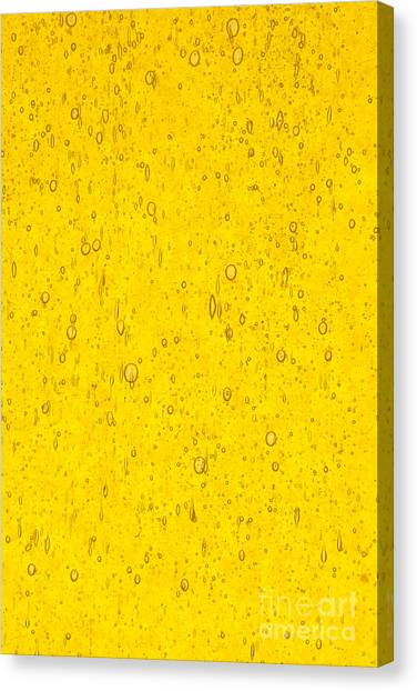 Canvas Print - Stained Glass Abstract Yellow by Jared Shomo