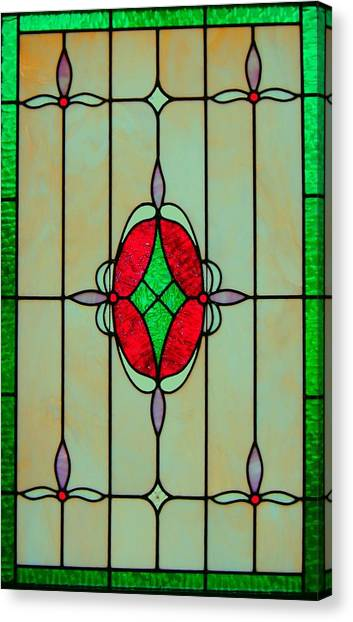 Stained Glass Canvas Print by Mary Ann Southern
