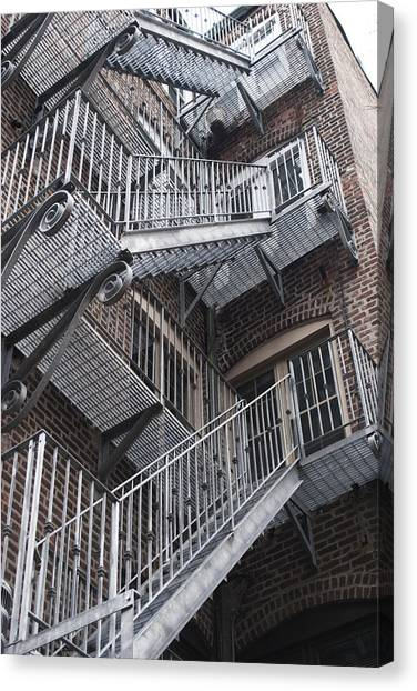 Stair Way Canvas Print by Gretchen Lally