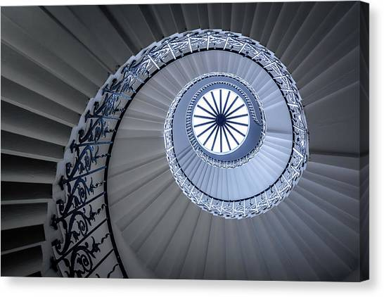 Uk Canvas Print - Staircase by Sus Bogaerts