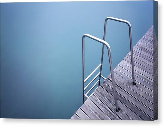 Sea Life Canvas Print - Stairs by Damiano Serra