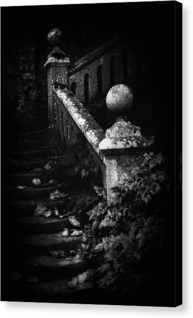 Decay Canvas Print - Stairs Decay by Marianne Siff Kusk