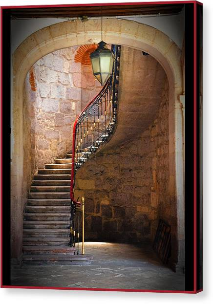 Stairway Of Light Canvas Print