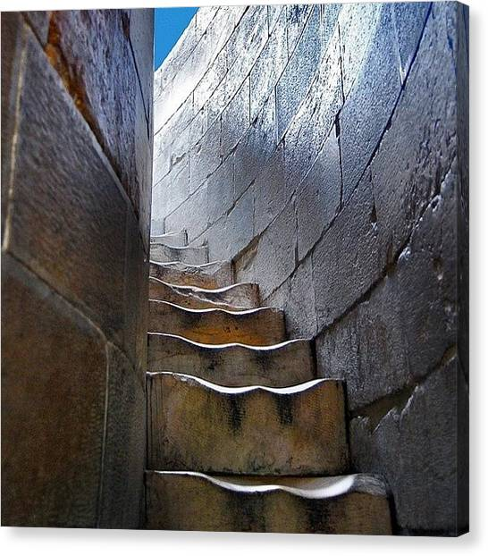 Decorative Canvas Print - Stairway To... by Carlos Alkmin