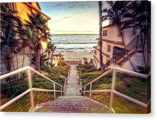 Canvas Print - Stairway To Heaven by Ann Patterson