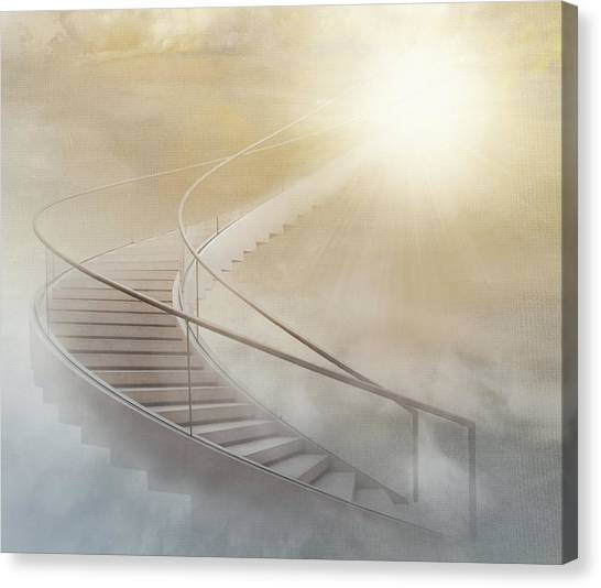 Texture Canvas Print - Stairway To Heaven by Gaby Grohovaz
