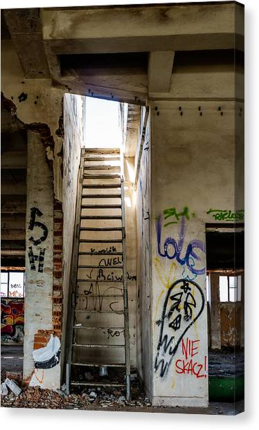 Stairway To Heaven? I Don't Think So... Canvas Print