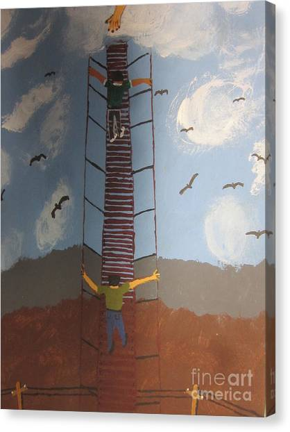 Canvas Print - Stairway To Heaven by Jeffrey Koss