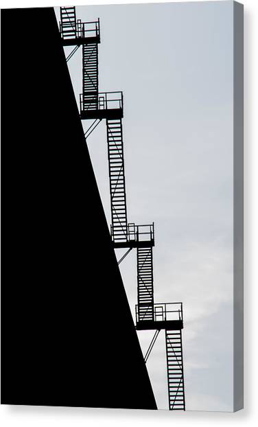 Nuclear Plants Canvas Print - Stairway To Heaven by Tikvah's Hope