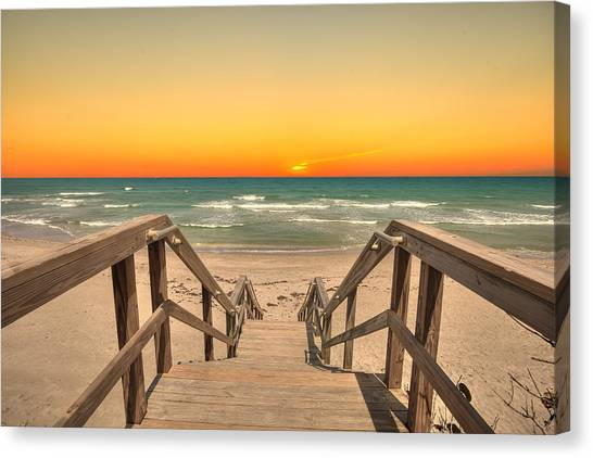 Stairway To Paradise Canvas Print