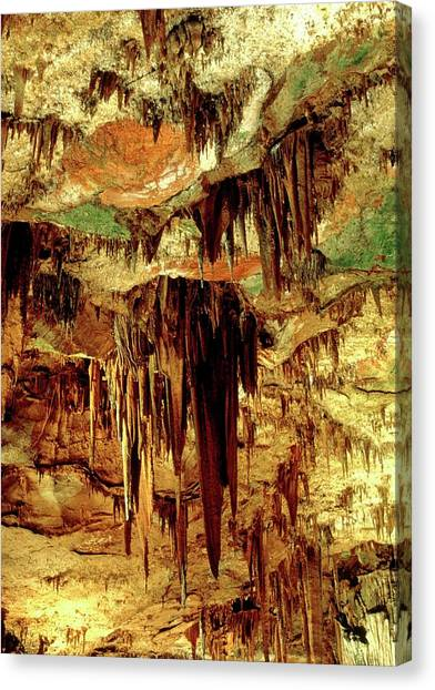 Stalactites Canvas Print - Stalactites by Adam Hart-davis/science Photo Library