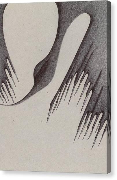 Stalactites Overhead Canvas Print