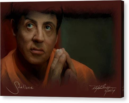 Stallone Canvas Print - Stallone by Mark Gallegos