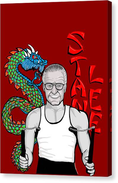 Stan Lee Canvas Print by Gary Niles