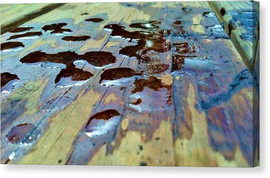 Standing Drops Canvas Print