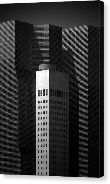 Manhattan Canvas Print - Standing Tall by Louis-philippe Provost
