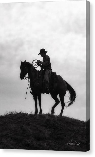 Standing Watch 2013 Canvas Print