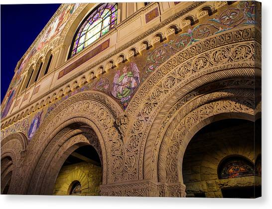 Stanford Canvas Print - Stanford University Memorial Church Hope by Scott McGuire