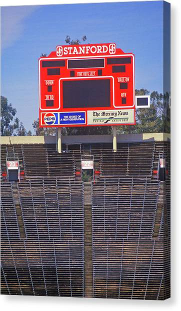 Stanford University Canvas Print - Stanford University Stadium In Palo by Panoramic Images