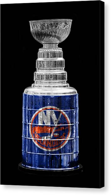 New York Islanders Canvas Print - Stanley Cup 10 by Andrew Fare