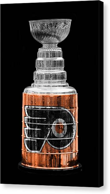 Flyer Canvas Print - Stanley Cup 9 by Andrew Fare