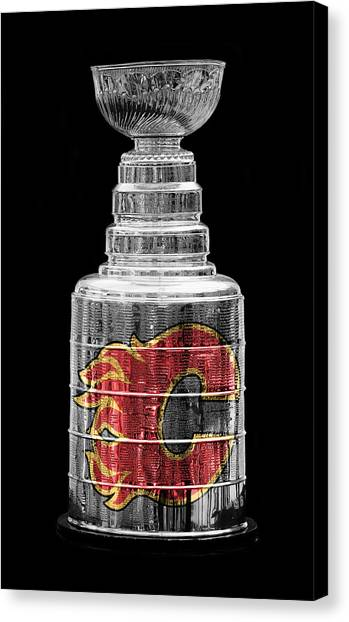 Stanley Cup Calgary Canvas Print