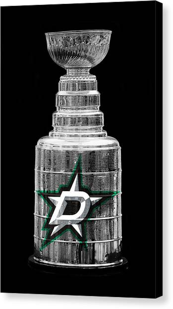 Dallas Stars Canvas Print - Stanley Cup Dallas by Andrew Fare