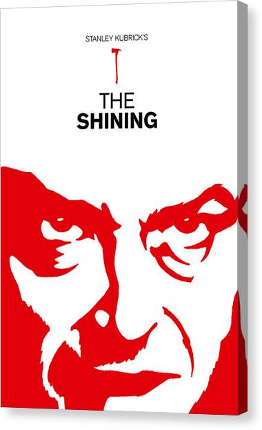 Clockwork Orange Canvas Print - Stanley Kubrick The Shining Movie Poster by Kevin Trow