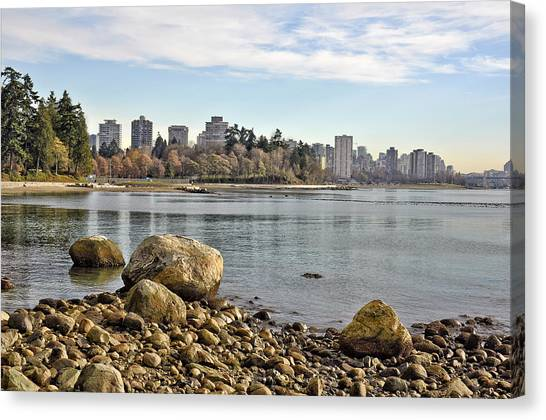 Stanley Park Beach Canvas Print