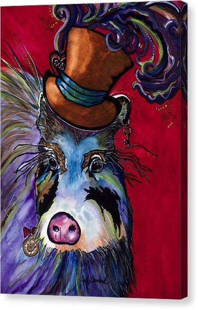 Stanley Steampunk Canvas Print