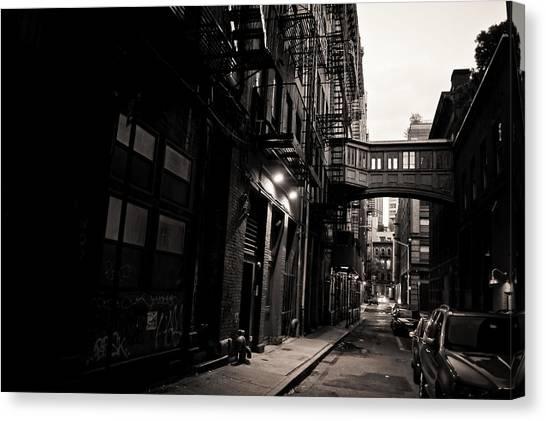 Staples canvas print staple street tribeca new york city by vivienne gucwa
