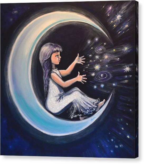Celestial Games Canvas Print