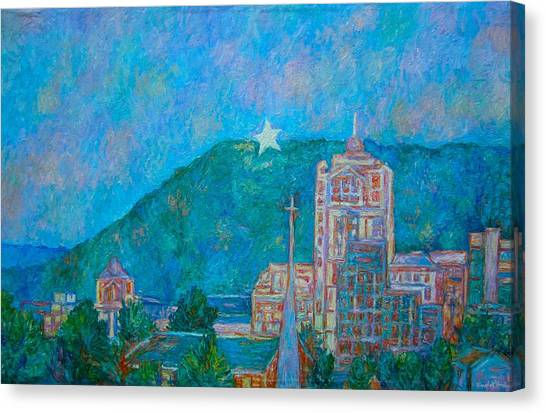 Star City Canvas Print